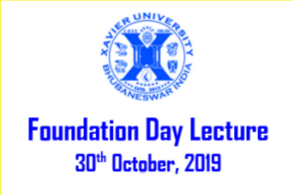 Foundation Day Lecture