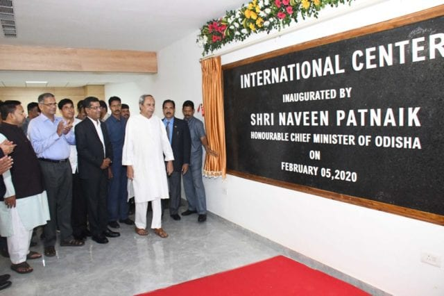 Inauguration of the International centre by Odisha CM