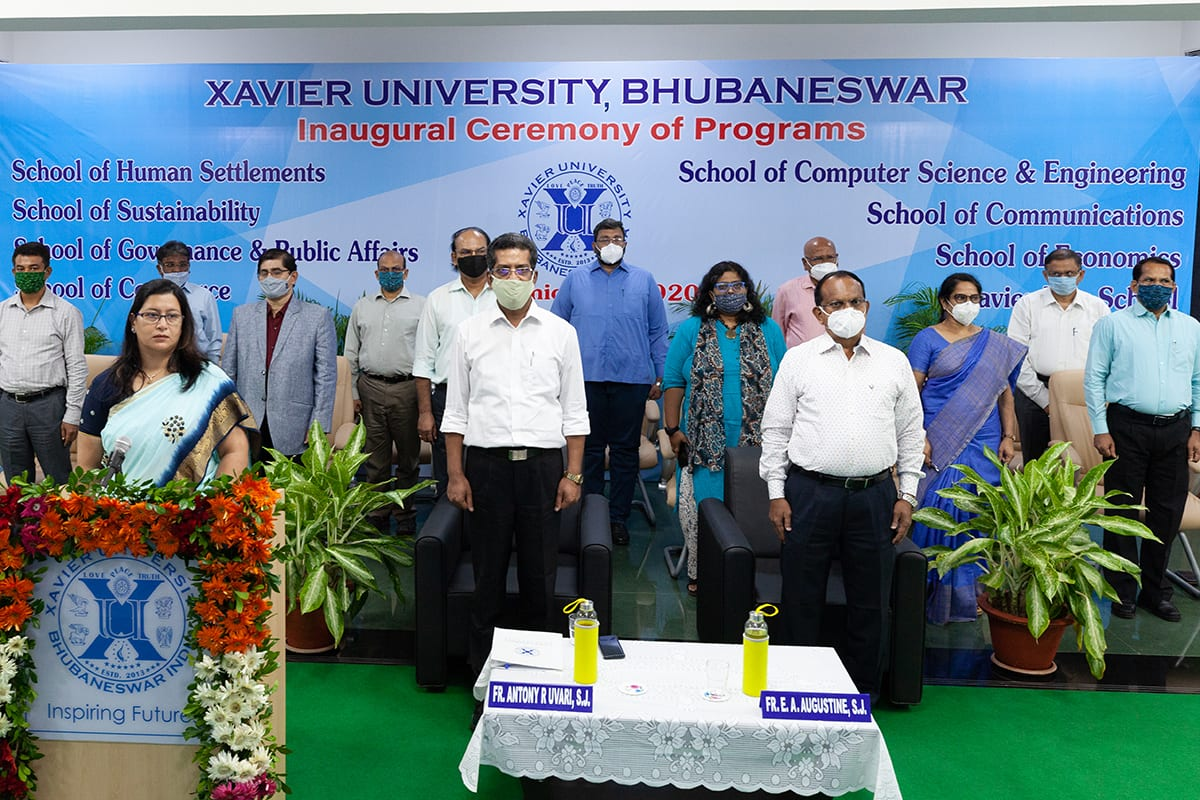 Inaugural Program for 1st Year, 2020 Batch Students