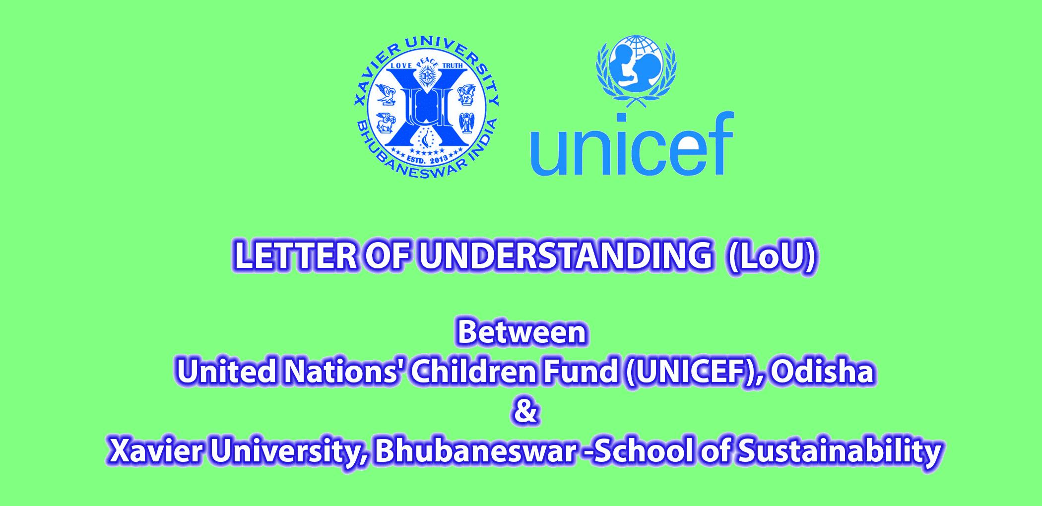 Letter of Understanding (LOU)