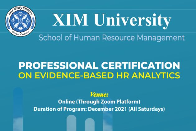 Online Certification program on HR Analytics for Executives